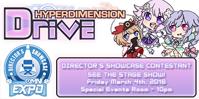 OMNI EXPO 2016 - Hyperdimension Drive - Director's Showcase Contest Entrant